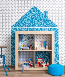 Cute DIY Dollhouse (via 101woonideeen)