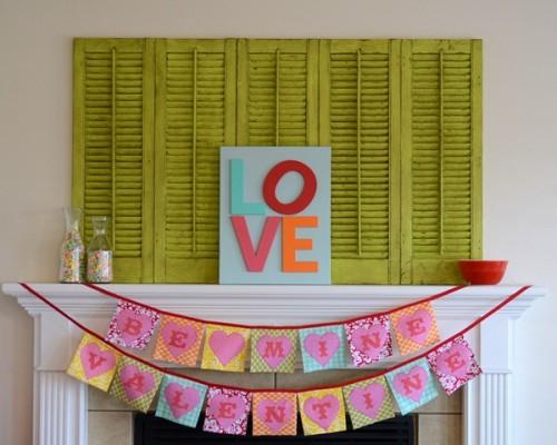 DIY LOVE Canvas Art (via crapivemade)