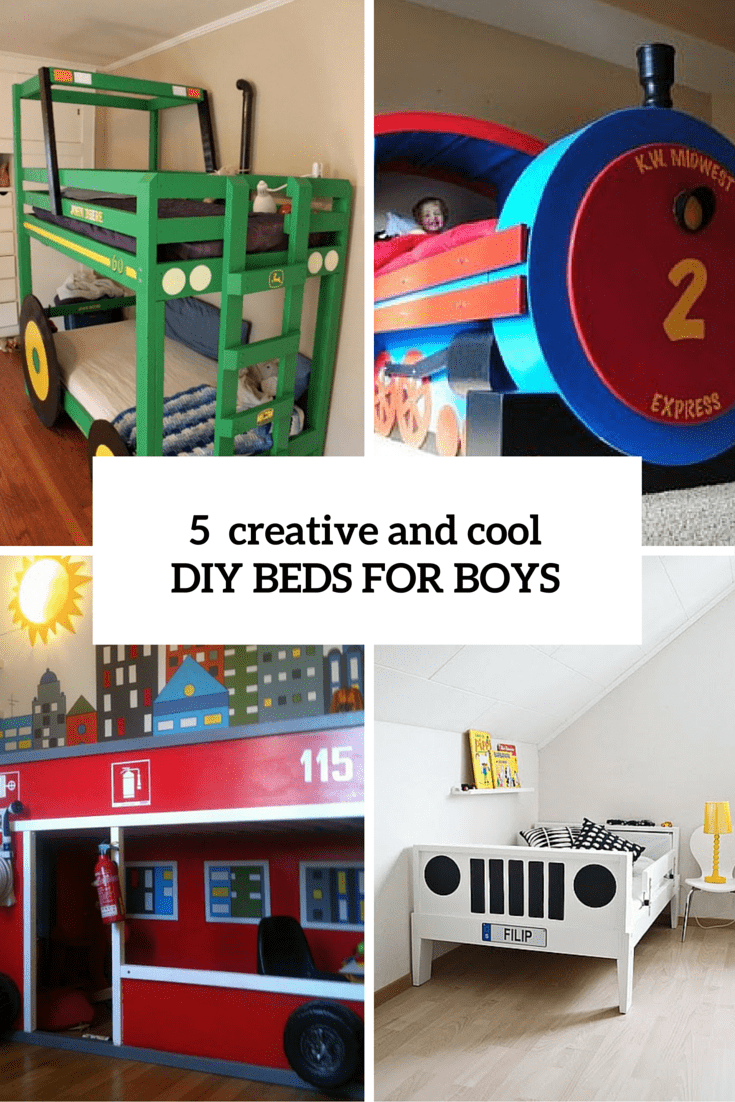 Diy beds archives shelterness for Creative beds
