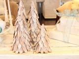 Cardboard Tabletop Christmas Trees Tutorial