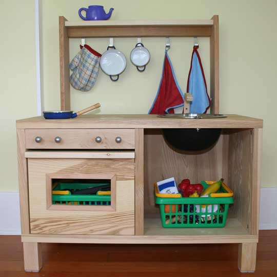 5 DIY Play Kitchens From Modified IKEA Pieces | Shelterness