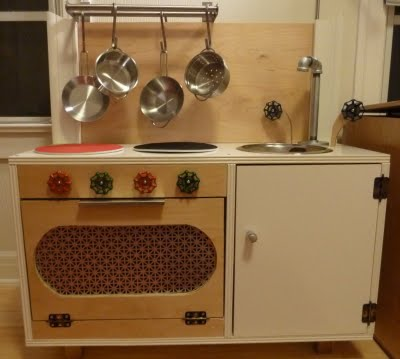 5 DIY Play Kitchens From Modified IKEA Pieces