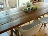DIY Reclaimed Dining Table