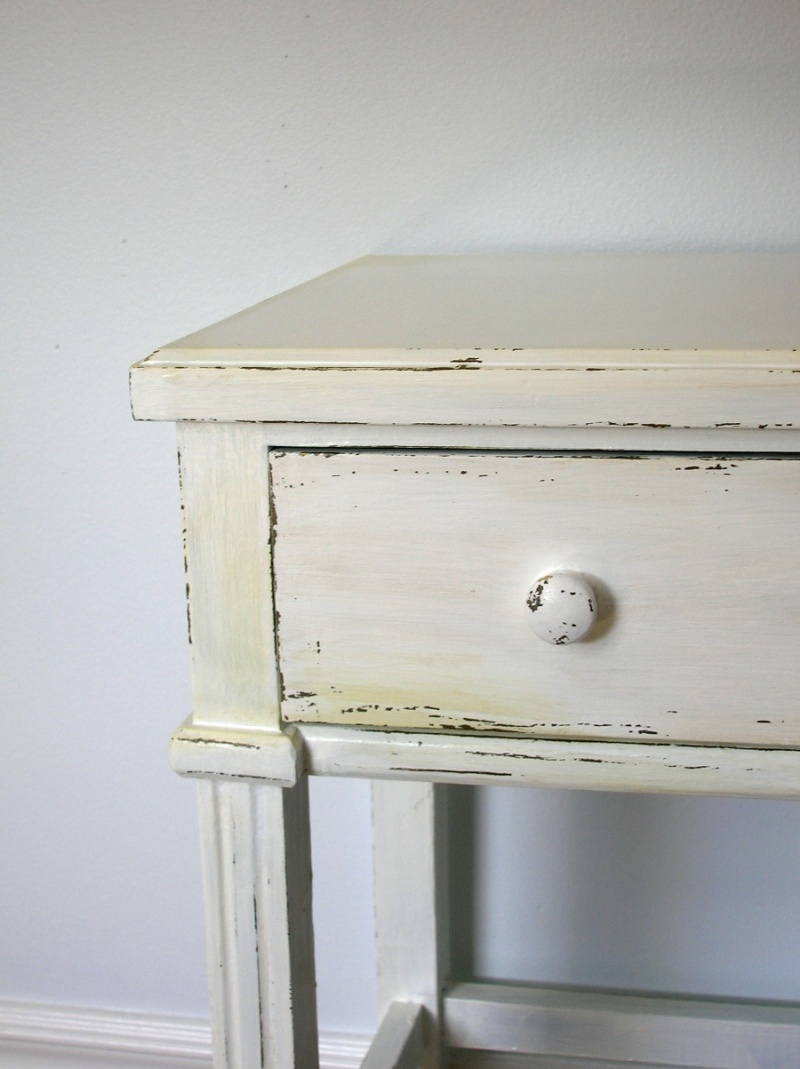 How To Antique Furniture With Paint And Candles