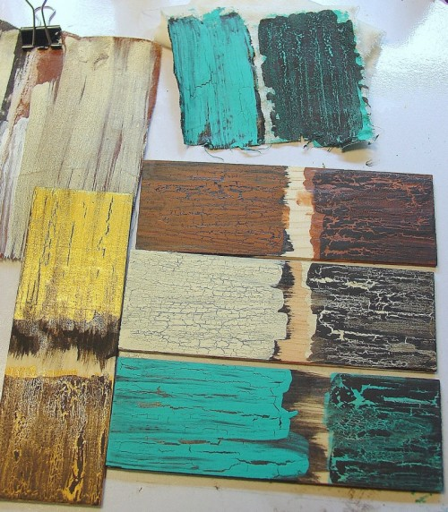 10 Great Tutorials Showing How To Distress And Age Wood