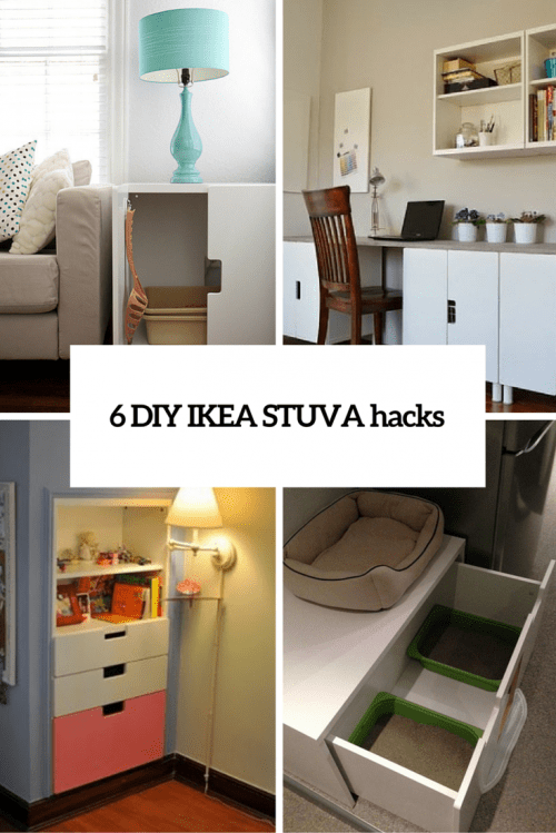 6 Creative DIY IKEA Stuva Furniture Hacks