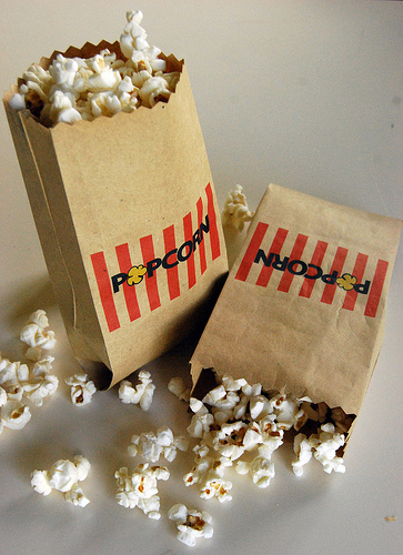 photo about Popcorn Bag Printable referred to as 5 Interesting And Absolutely free Popcorn Bag Templates - Shelterness