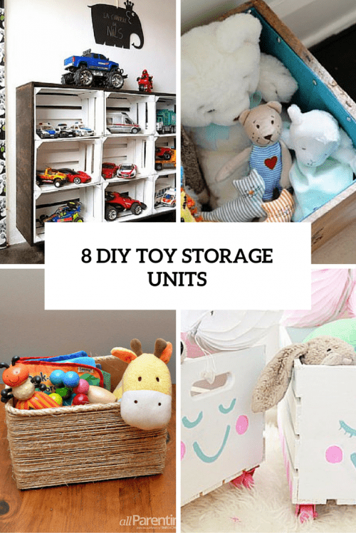 8 diy toy storage units cover
