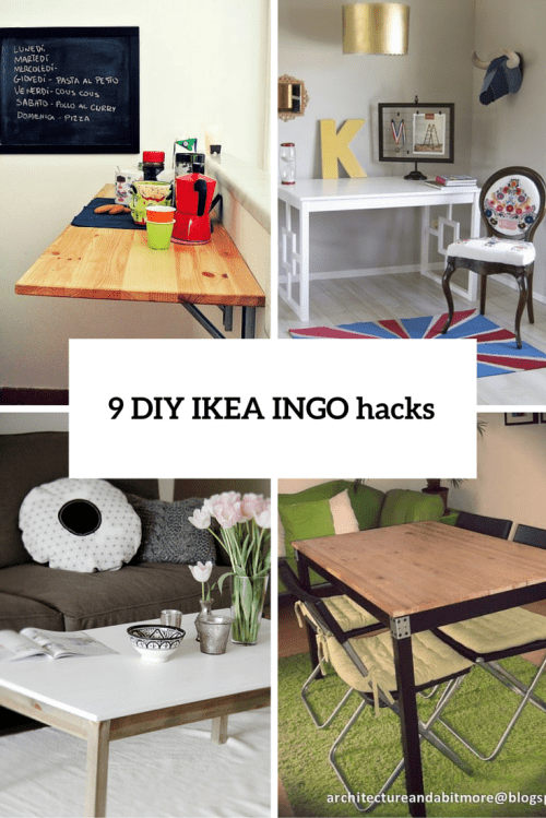 9 DIY IKEA Ingo Table Makeovers You Should Try Shelterness