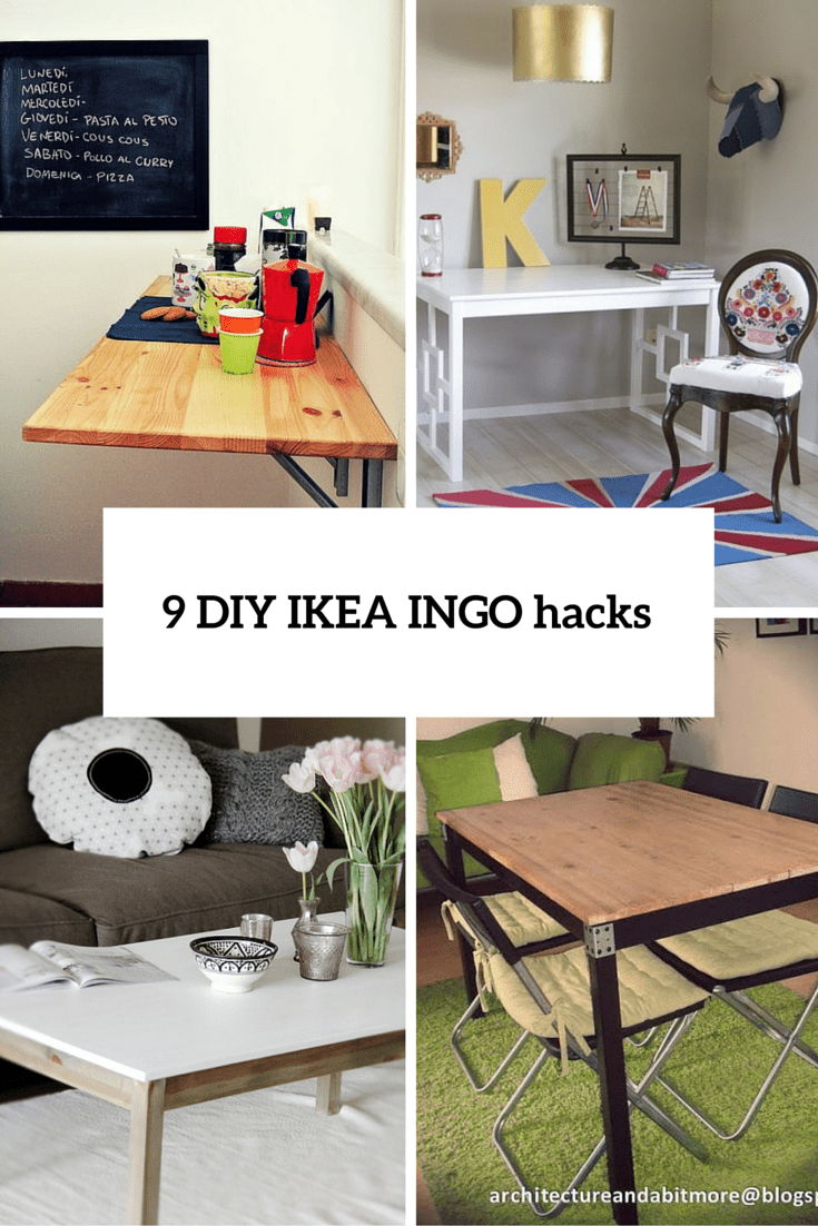 9 DIY IKEA Ingo Table Makeovers You Should Try