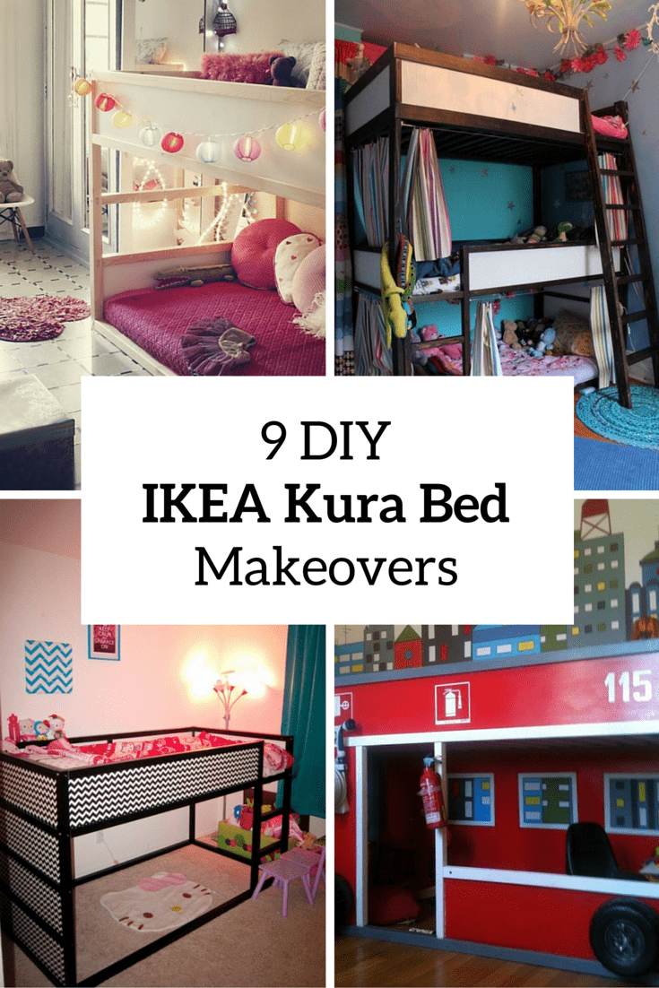 9 ikea kura bed makeovers cover