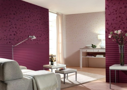 Burgundy Interior Designs
