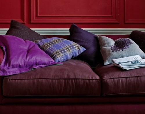 Burgundy Interior Designs