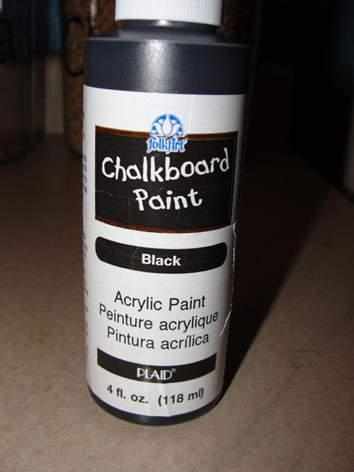 Chalkboard In A Cupboard