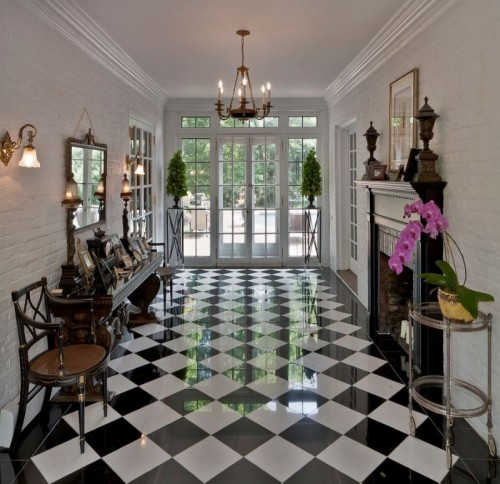 Checkered Floors