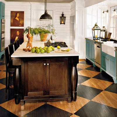 35 cool checkered flooring ideas - shelterness
