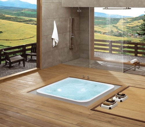 Chi In-Floor Bathtub