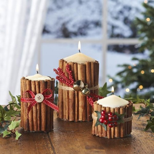 Cinnamon Candles (via hobbycraft)