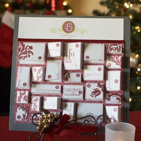 DIY Easy Printable Christmas Advent Calendar