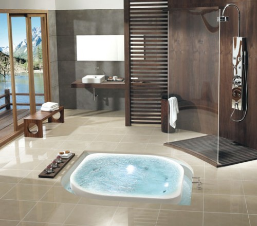 Float In-Floor Bathtub