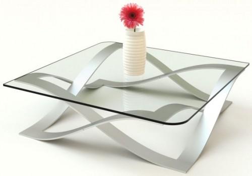 GlassPort Coffee Table (via)