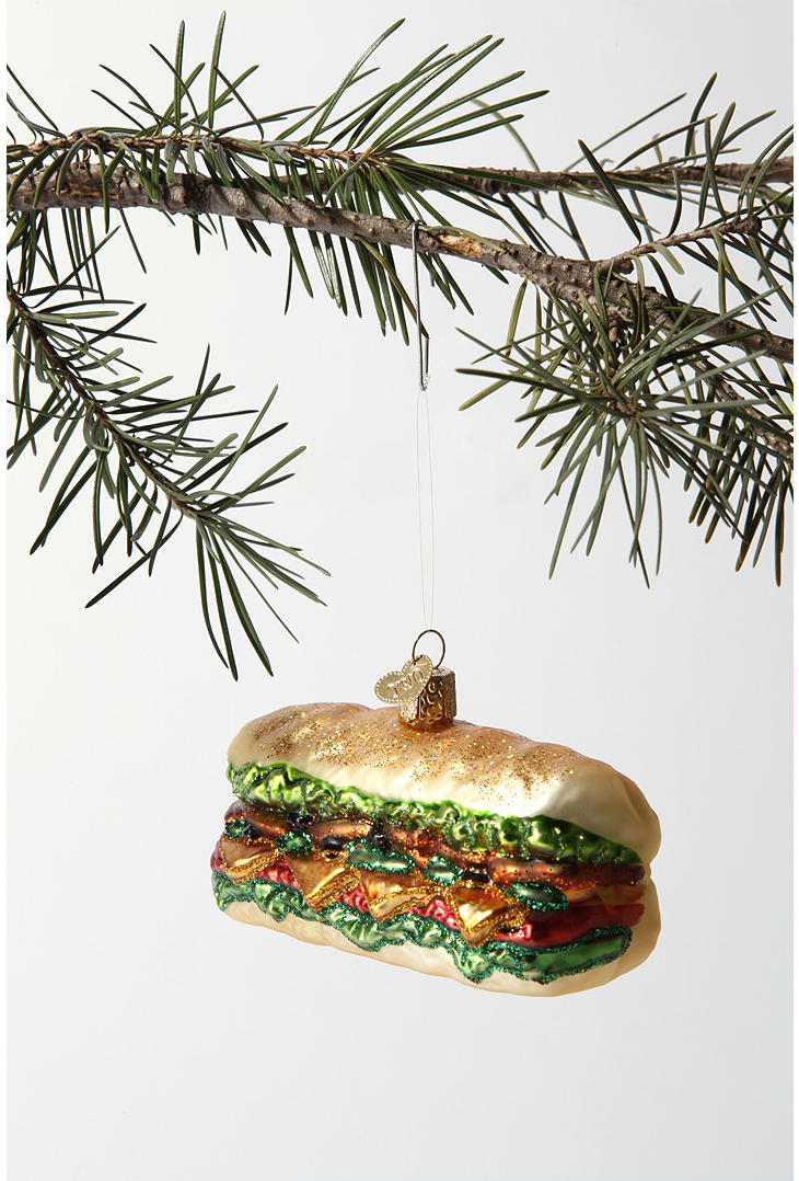 Hoagie Christmas Tree Ornament