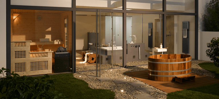 picture of ikkuna by finnland sauna. Black Bedroom Furniture Sets. Home Design Ideas