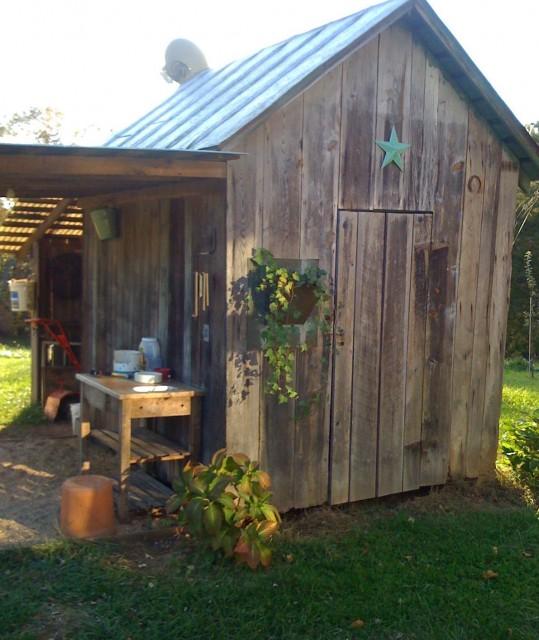Rustic Garden Shed
