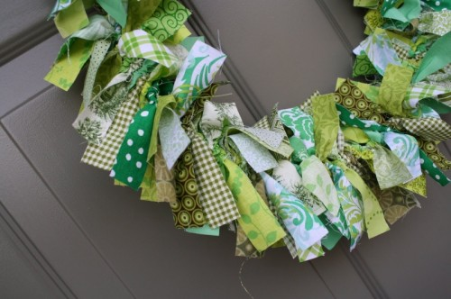 Saint Patrick Day Wreath