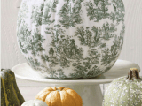 Toile Decoupage Pumpkin