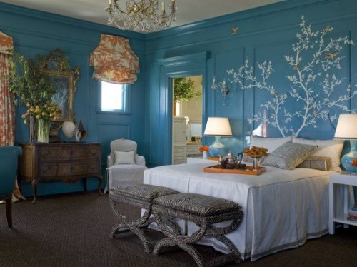 Bedroom Decor Turquoise 55 cool turquoise decorating ideas - shelterness