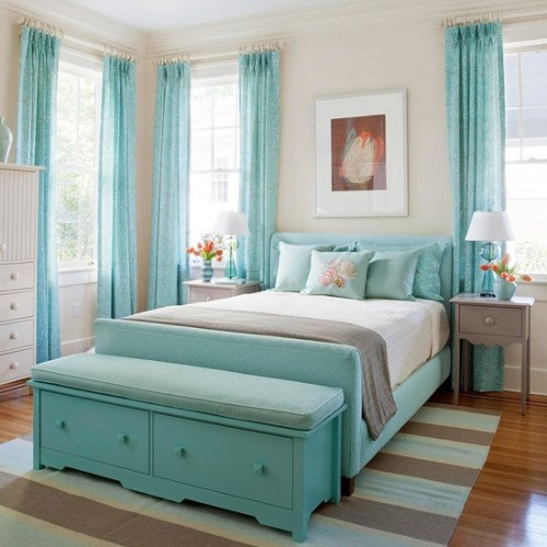 turquoise bedrooms. Turquoise Decorating Ideas 55 Cool  Shelterness