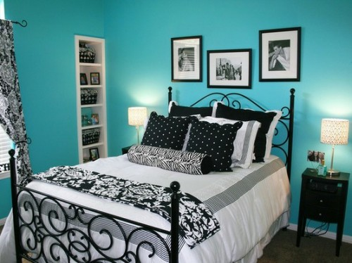 Bedroom Ideas Turquoise 55 cool turquoise decorating ideas - shelterness