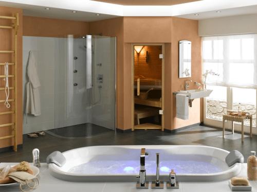 Wellnessbad By Finnland Sauna