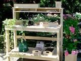 White Cedar Potting Bench
