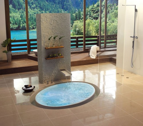 Wish In-Floor Bathtub