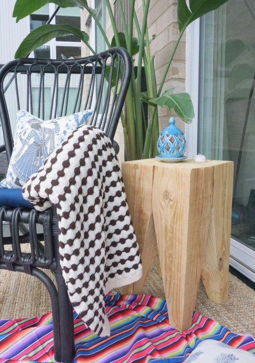 Absolutely Natural DIY Timber Side Table