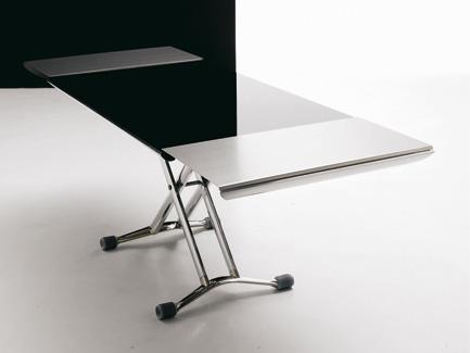 Adjustable Coffee Table By Ozzio (via)