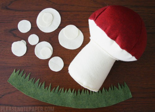 Adorable And Soft DIY Plush Toadstool