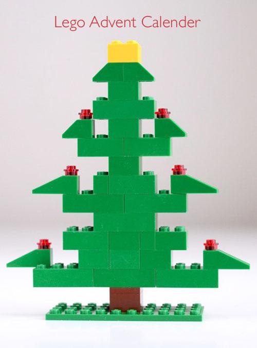 LEGO advent tree