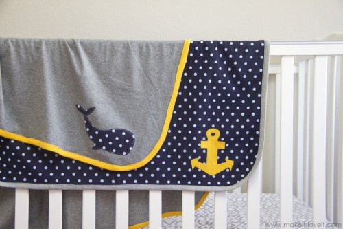 13 Adorable DIY Baby Blankets From Fabric