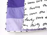 ombre quilt blanket
