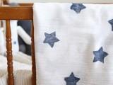star printed blanket
