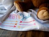 arrow baby blanket
