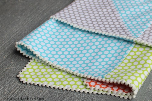 13 Adorable Diy Baby Blankets From Fabric Shelterness