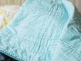 beluga embroidered blanket