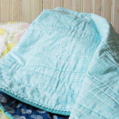 beluga embroidered blanket (via wildolive)