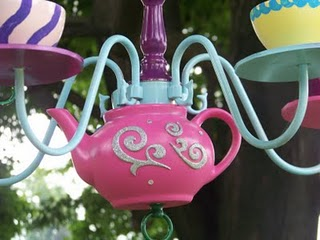 WHIMSICAL TEAPOT, CUP AND SAUCER THREE LIGHT CHANDELIER | eBay