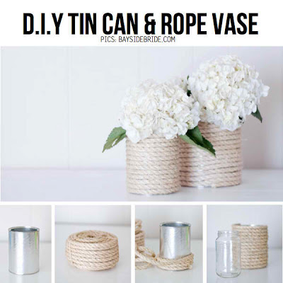 13 Amazing And Easy To Make Tin Can Vases Shelterness