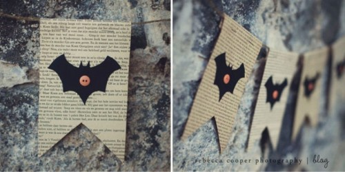 vintage bat garland (via shelterness)